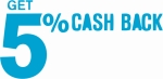 5% Cash back in Maxbhi eWallet