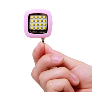 Selfie LED Flash Light for Karbonn K9 Smart - ET22